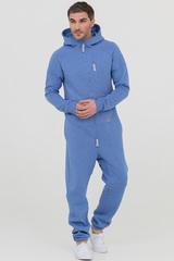 """Комбинезон """"SpaceSuit"""" мужской голубой меланж с начесом"""