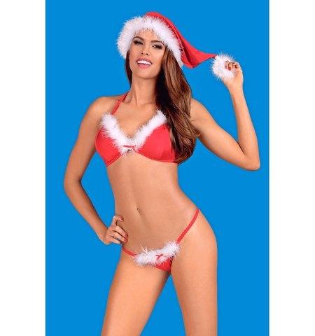 Комплект новогоднего нижнего белья Santastic