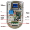 Датчик утечки газа Кенарь GD100-L  пропан С3Н8