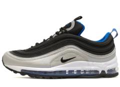 Кроссовки Мужские Nike Air Max 97 Black Silver Blue