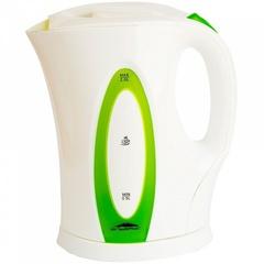 Чайник электрический 2л Эльбрус-4 белый с зеленым