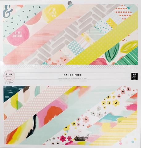 Набор односторонней бумаги  Fancy Free  от Pink Paislee  30х30см
