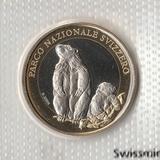 P2919, 2010, Швейцария, 10 франков UNC в родной запайке, Суслик