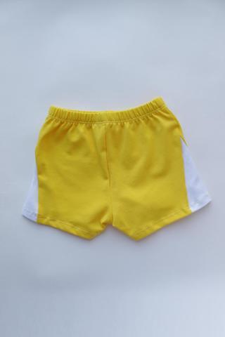 Майка с шортами Хлопок (желтый)