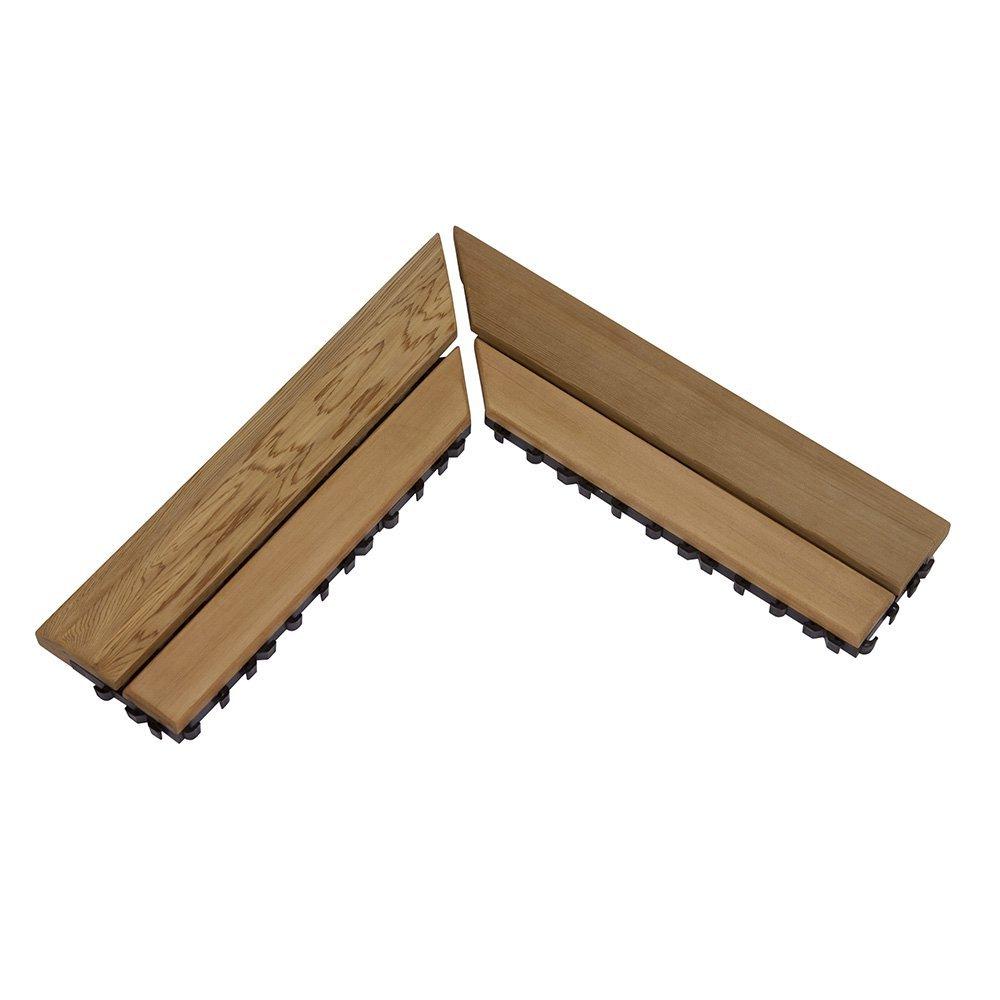 Ограждения и коврики: Коврик деревянный на пол SAWO 595-D-CNR (угловой)