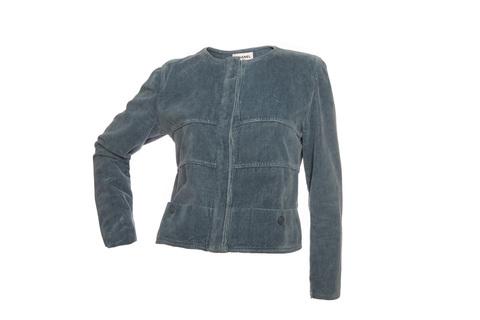 Серо-синий пиджак