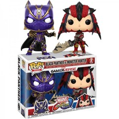 Marvel vs. Capcom - Black Panther Vs Monster Hunter Pop!