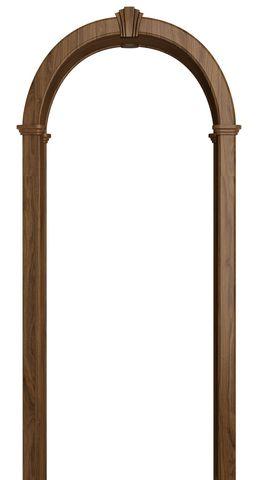 Арка межкомнатная ПВХ Лесма, Романская, цвет дуб антик