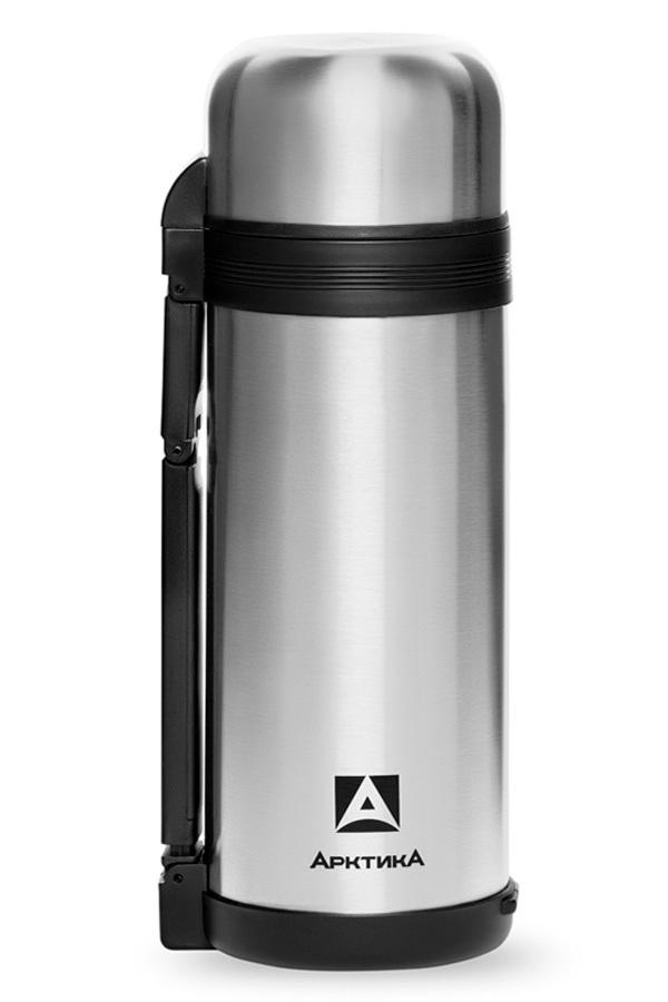 Термос универсальный (для еды и напитков) Арктика (1,5 литра) с широким горлом, стальной*