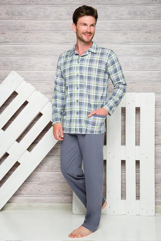 Мужская пижама 7W Gracjan 1008-1009 Grey Taro