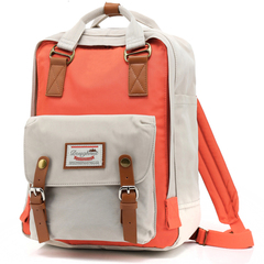 Рюкзак Nikki Macaroon Светло-Серый + Розовым