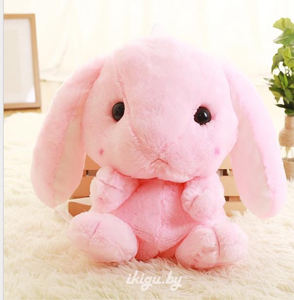 Игрушки с пледом Рюкзачок Кролик Розовый bag_rabbit_roz.jpg