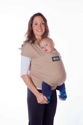 Трикотажный слинг-шарф Boba Wrap (Органический хлопок +спандекс)