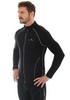 Мужская толстовка Brubeck Windproof Zip Top (LS11060) черная фото