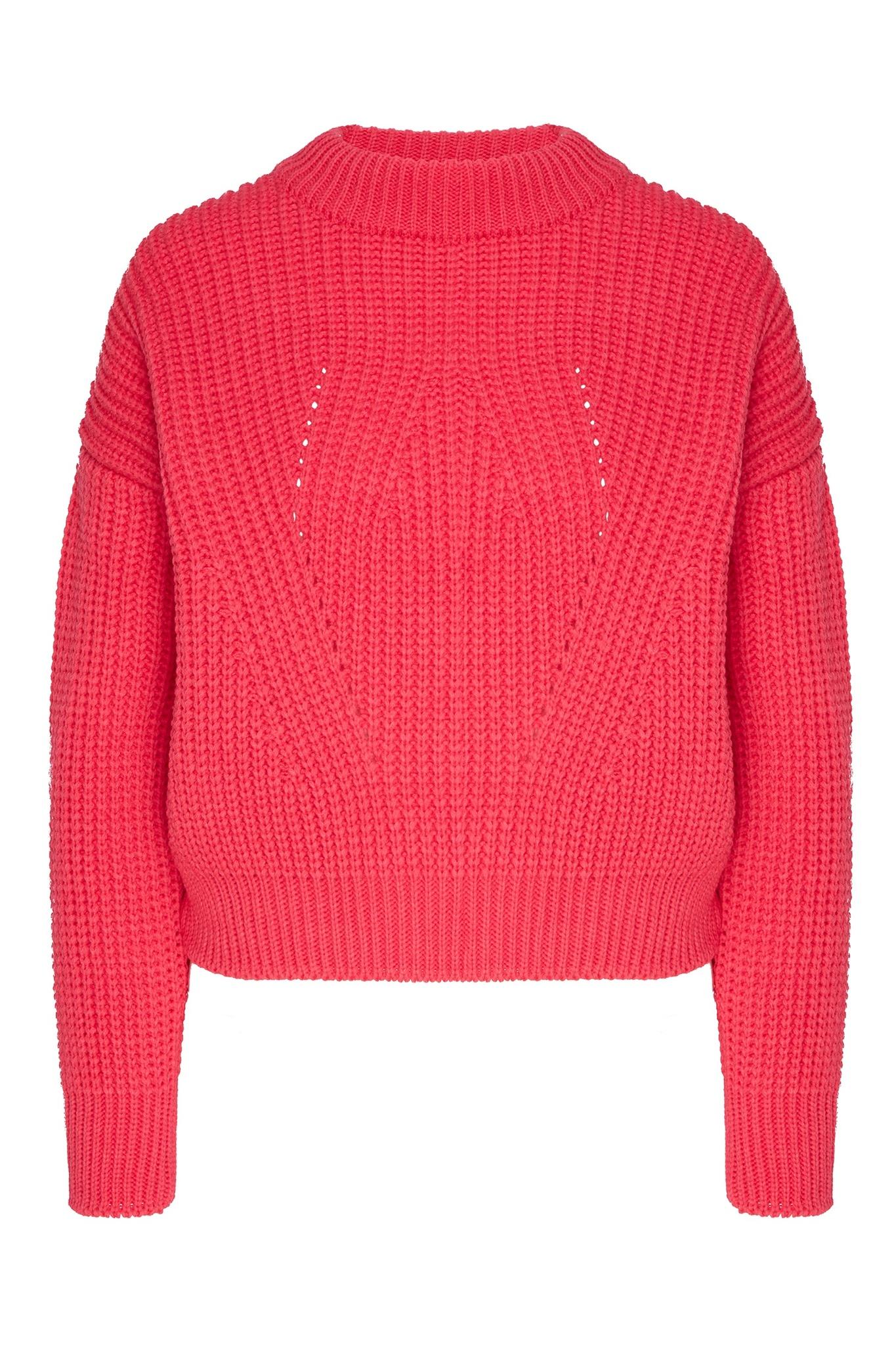 Укороченный свитер объемной вязки (SS0296)