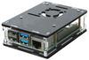 Корпус для Raspberry Pi 4 (LT-4B16 / акрил / чёрный)