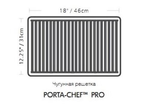 PORTA CHEF 120 Газовый гриль