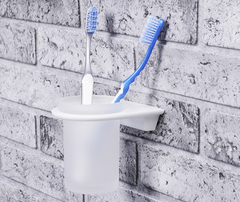 Стакан в ванную WasserKRAFT Kammel K-8328WHITE