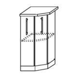Кухня Страйп Шкаф нижний торцевой угловой ШНТУ 400