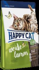 Корм для кошек Happy Cat Пастбищный ягненок