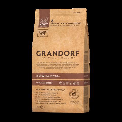 Grandorf Duck & Potato Adult All Breeds Сухой корм для взрослых собак всех пород Утка с картофелем беззерновой