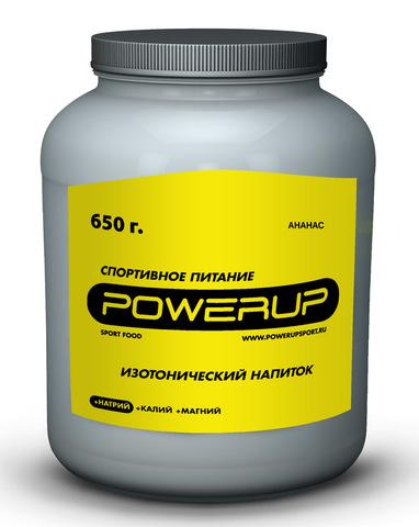Спортивный изотонический напиток POWERUP Ананас