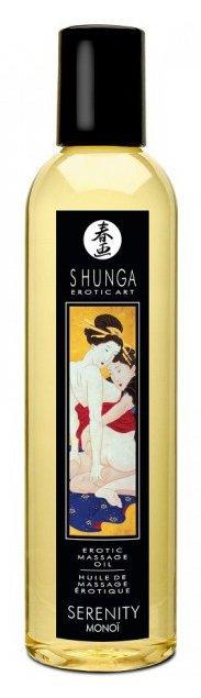 Массажные масла и свечи: Массажное масло с ароматом таитянской монои Serenity Monoi - 250 мл.