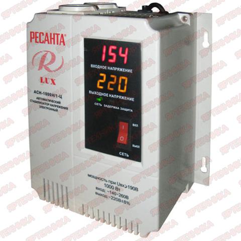Стабилизатор АСН-1 000 H/1-Ц Lux