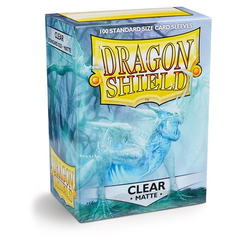 Протекторы Dragon Shield матовые Clear (100 шт.)