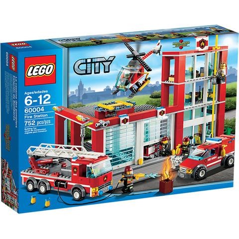 LEGO City: Пожарная часть 60004 — Fire Station — Лего Сити Город