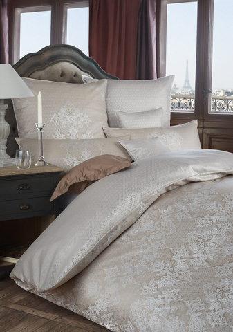 Постельное белье 2 спальное евро Curt Bauer Juliette молочный шоколад