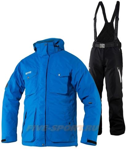 Горнолыжный костюм 8848 Altitude парка Bruson/Kers мужской Blue/Black