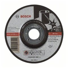 Зачистной круг 125х6х22,23 мм по нержавеющей стали Bosch Expert for Inox 2608602488