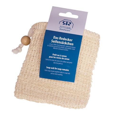 Сизалевая мочалка-мешочек для мыла