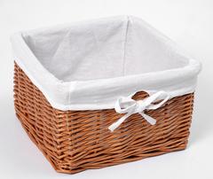 Плетеная корзина для ванной WasserKRAFT Dinkel WB-580-M