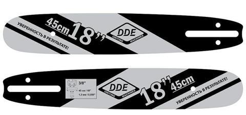 Шина пилы цепной сварная DDE 18