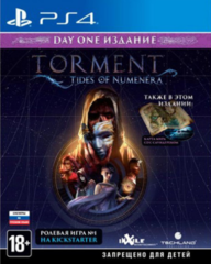 PS4 Torment: Tides of Numenera - Day 1 Edition (руссккие субтитры)