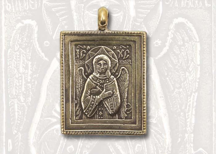 Православные украшения Спас Благое Молчание кулон SpasBlagoeMolchanie700_500.jpg