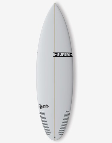 "Серфборд SUPERBRAND TOY X 6'4"" X 20 X 2 5/8 FCS II THRUSTER"