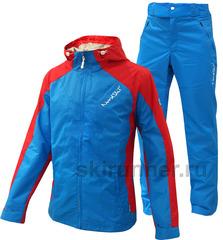 Ветрозащитный спортивный костюм Nordski National blue мужской