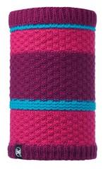 Вязаный шарф-труба с флисовой подкладкой Buff Fizz Pink Honeysuckle