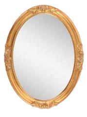 Зеркало овальное Migliore ML.COM-70.503.DO золото сусальное  82х62х5,5см.