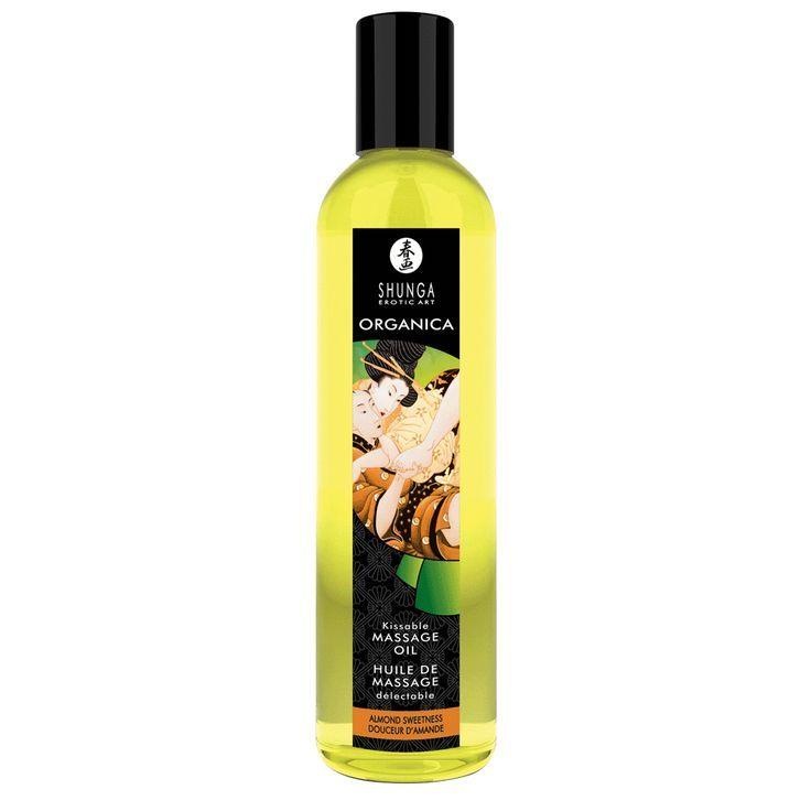 Массажные масла и свечи: Массажное масло Almond Sweetness с ароматом миндаля - 250 мл.