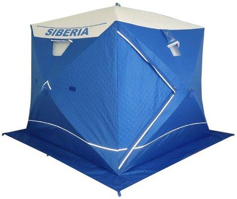 Зимняя палатка куб Пингвин Призма Сиберия четырехслойная
