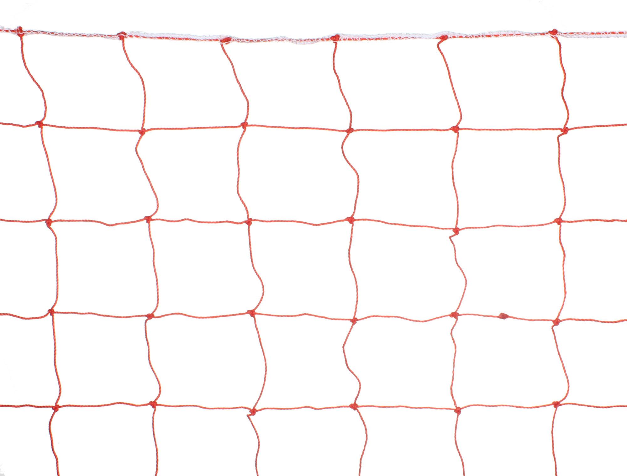 Сетка для горнолыжных трасс и склонов, ячейка 100x100 мм, нить 2,2 мм, цвет красный
