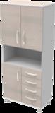 Шкаф медицинский общего назначения 2.02 тип 4 АйВуд Medical Office