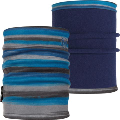 Двойной флисовый шарф-труба Buff Slide Blue
