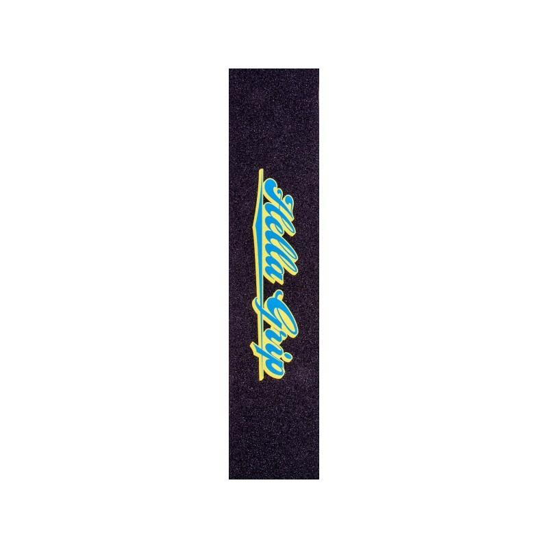 Шкурка для самоката HELLA GRIP - Classic Logo GripTape (Blue & Yellow) [6