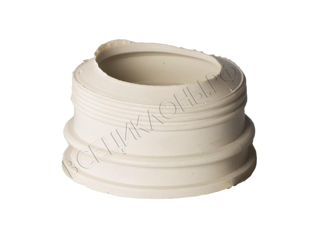 Резиновый переходник для Циклона М-2 и М-2 d50мм-40мм