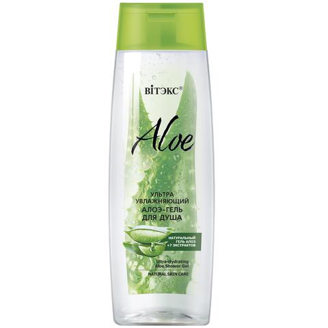 Витэкс Aloe 97% Ультраувлажняющий алоэ-гель для душа 400 мл